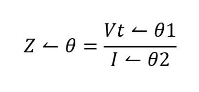 Impedancia de un circuito rc en serie