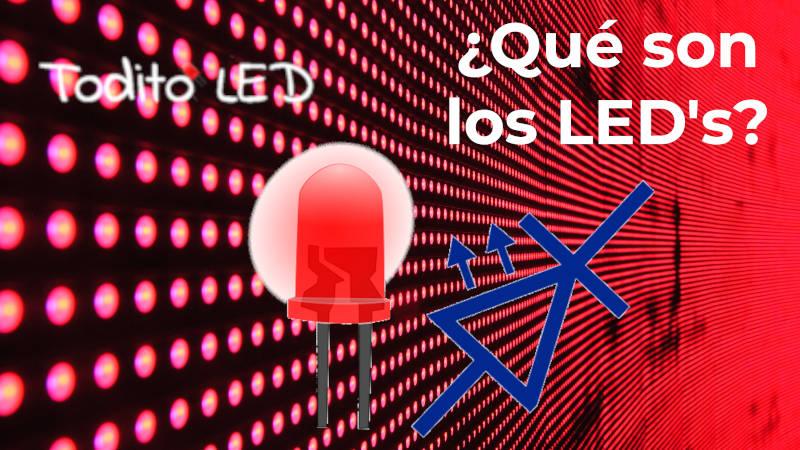 LED: ¿Qué es y cómo funciona? Tipos, características y aplicaciones.