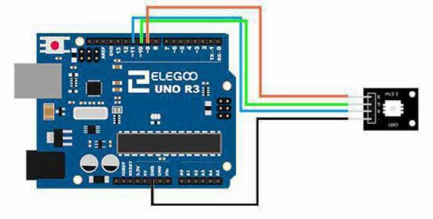 Conexión LED RGB con ARDUINO