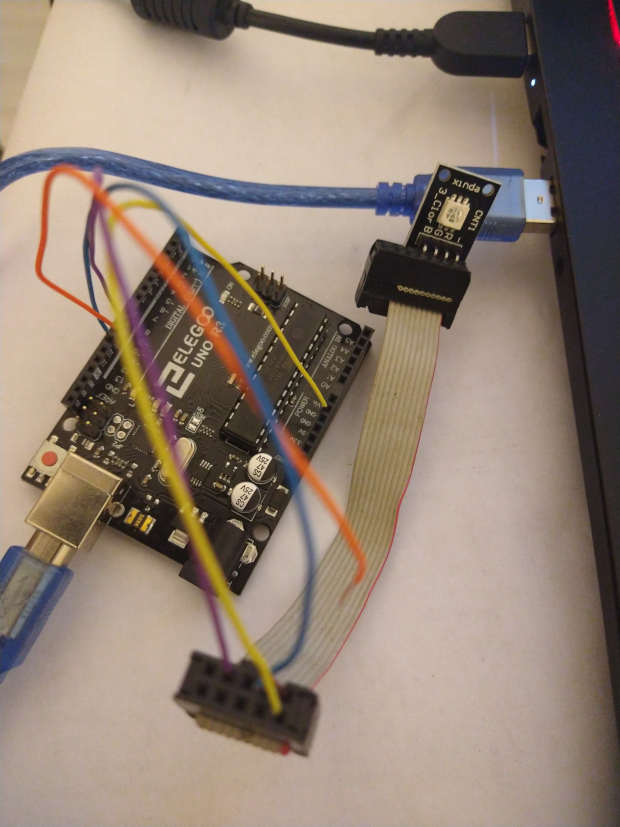 Implementación del LED RGB con Arduino