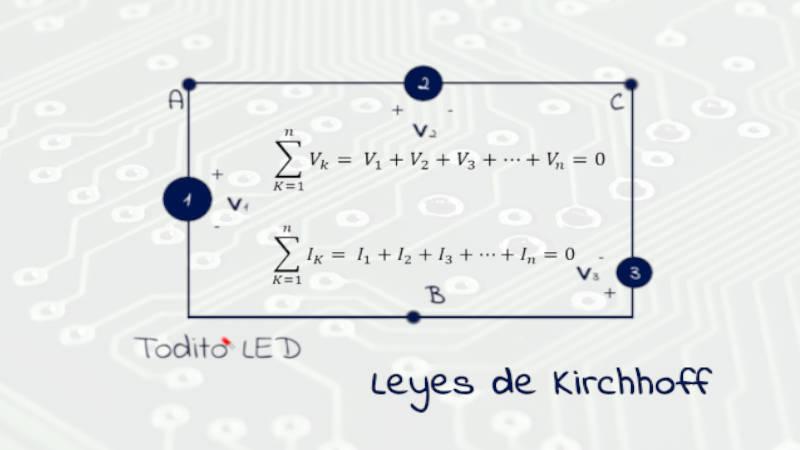 Leyes de Kirchhoff: Leyes de corriente y voltaje