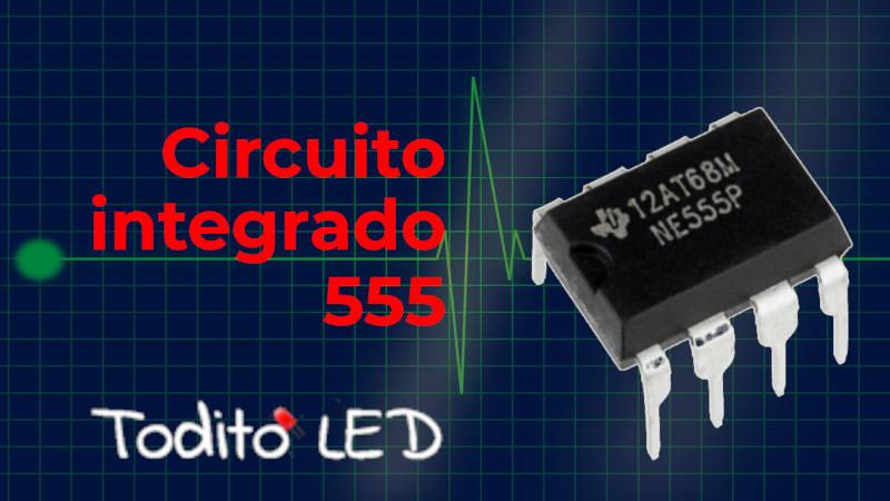 Circuito integrado LM555: diagrama, datasheet y modos de operación.