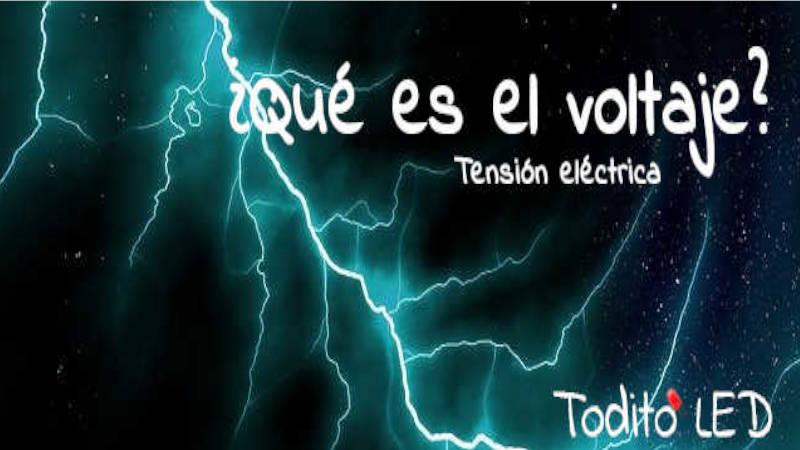 Tensión eléctrica: Diferencia respecto al voltaje, cálculos, tipos y ejemplos.