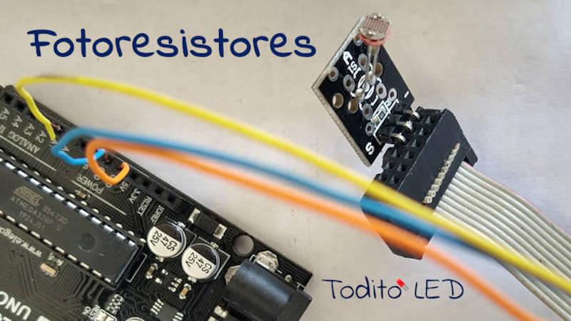 Fotoresistencia LDR, funcionamiento, tipos y aplicaciones con Arduino
