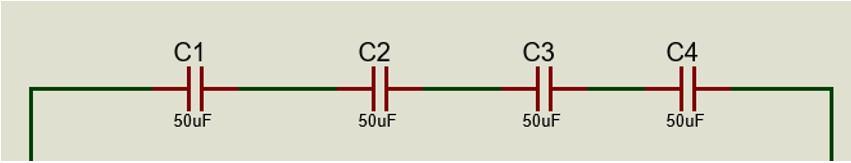 Rama 1 de nuestro banco de capacitores