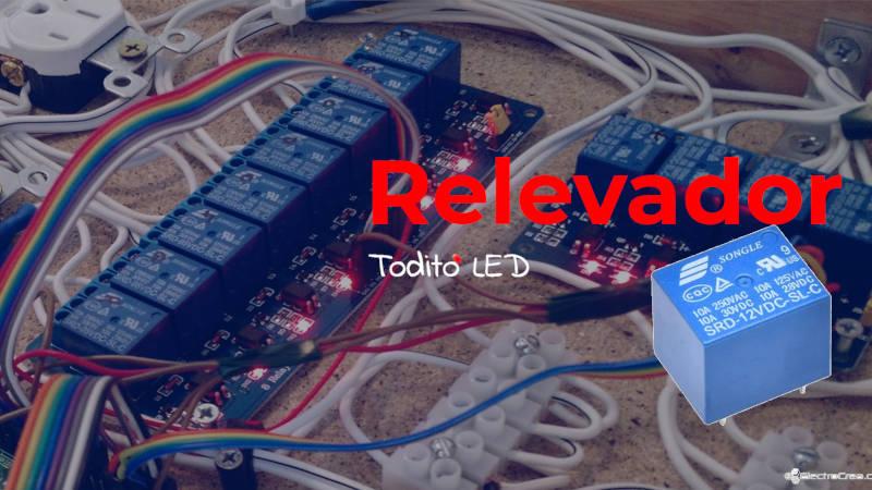 Relevadores: funcionamiento, características y circuitos de ejemplo