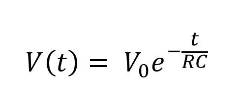 Solución de la Ecuación diferencial del voltaje en un circuito RC