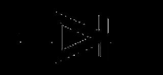 Símbolo eléctrico del Diodo Schottky