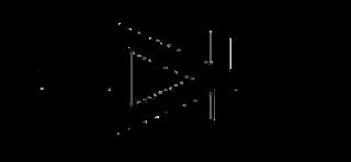 Símbolo del diodo Zener