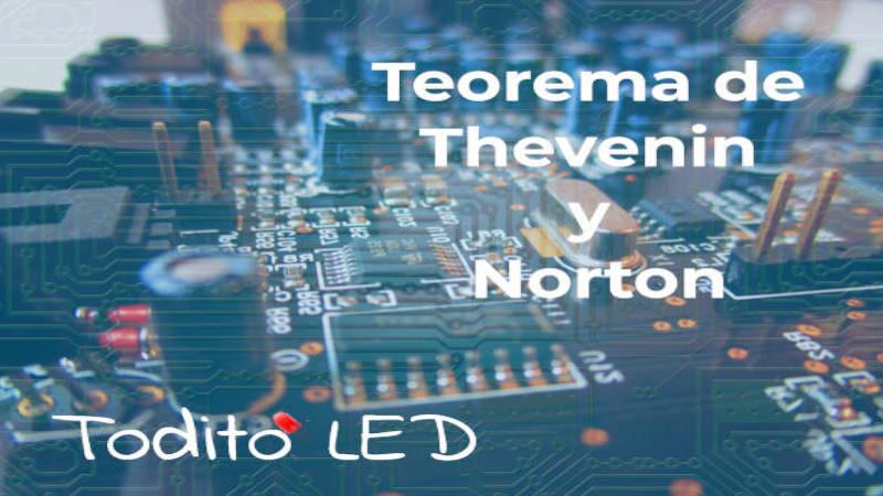 Teorema de Thevenin y Norton: simplificación de circuitos y ejemplos.