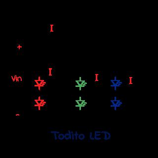 conexión de una tira de led