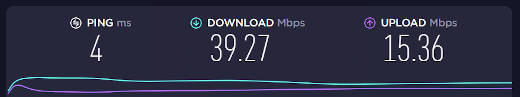 Prueba de velocidad de internet antes de instalar Archer C50