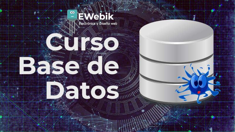 Curso gratuito de Bases de datos (DB): tipos, modelos y aplicaciones