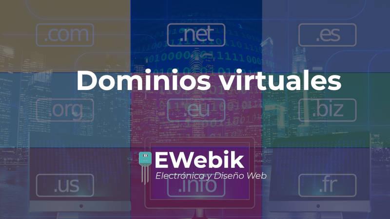 Dominios virtuales, ¿Dónde comprar el dominio para mi página web?