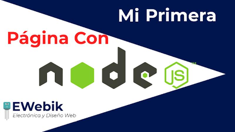 Crea tu Primera Página Web Con Node JS Desde Cero