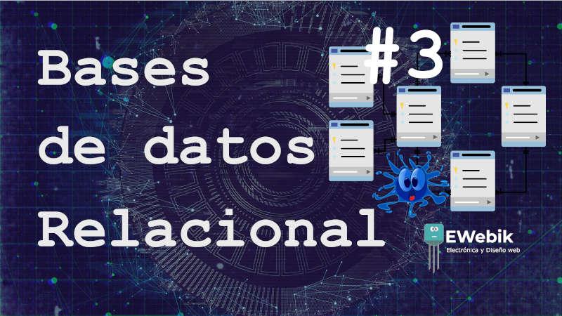Modelo relacional: Base de datos relacional