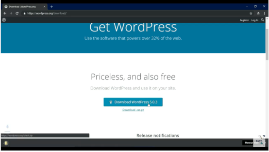 ¿Dónde descargar WordPress?
