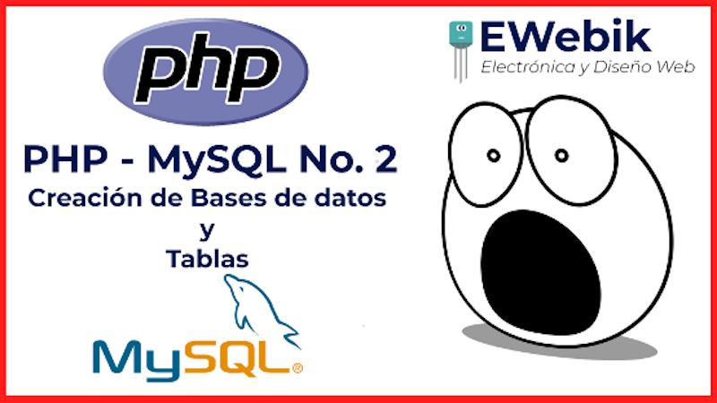 ¿Cómo crear una base de datos utilizando MySQL y PHP?