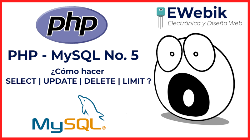 ¿Cómo hacer y ejecutar querys SELECT, UPDATE y DELETE en MySQL desde PHP?