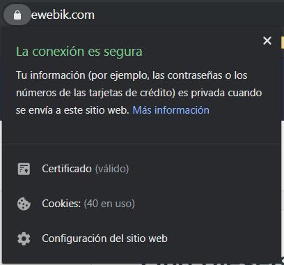 Certificado SSL en la URL