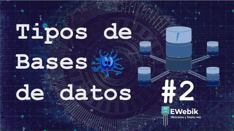 Lista de los principales tipos y modelos de base de datos que existen